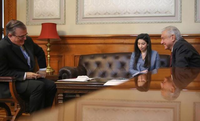 AMLO y Kamala Harris conversan sobre mecanismos de cooperación para migración regular, ordenada y segura