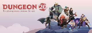 Dungeon20 pagina para jugar rol gratis en español
