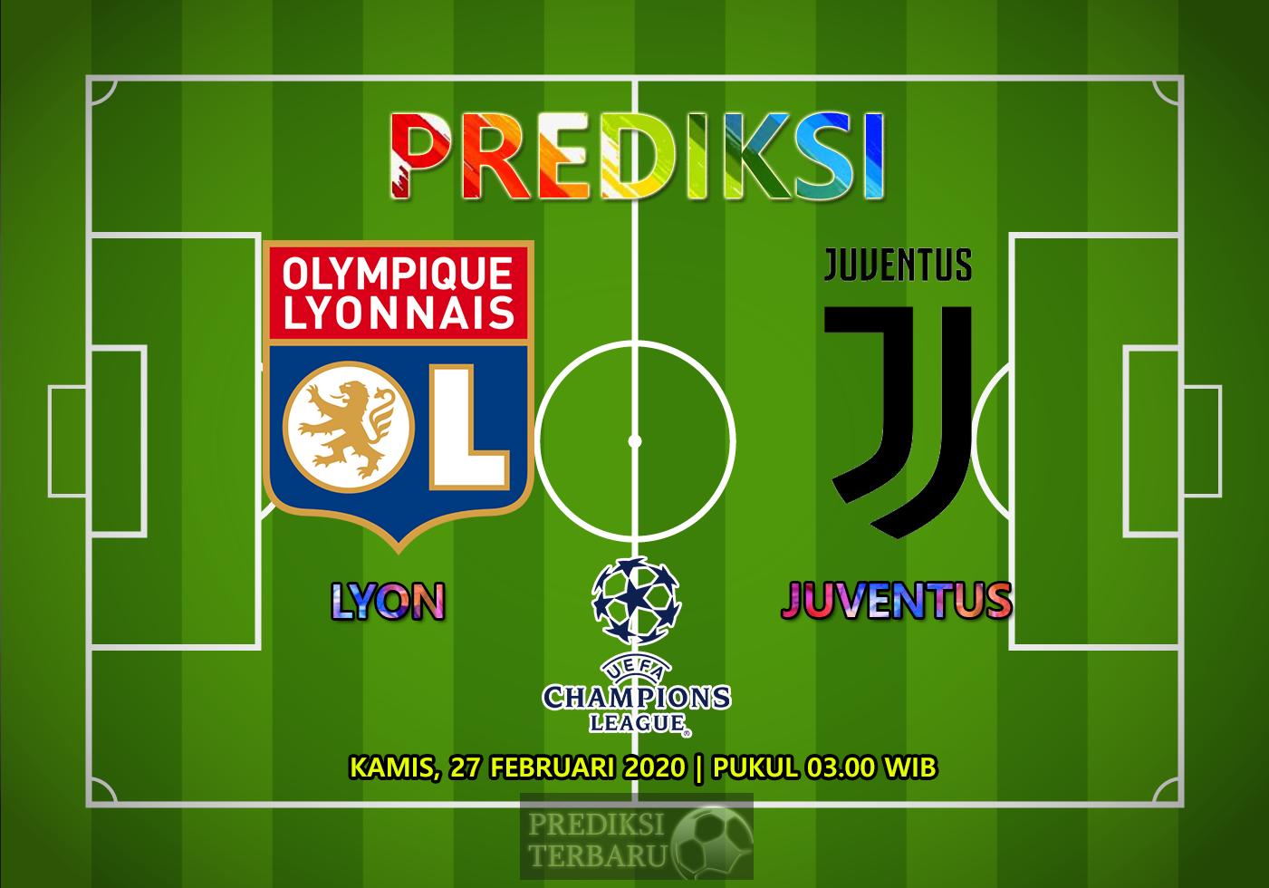 Prediksi Lyon Vs Juventus, Kamis 27 Februari