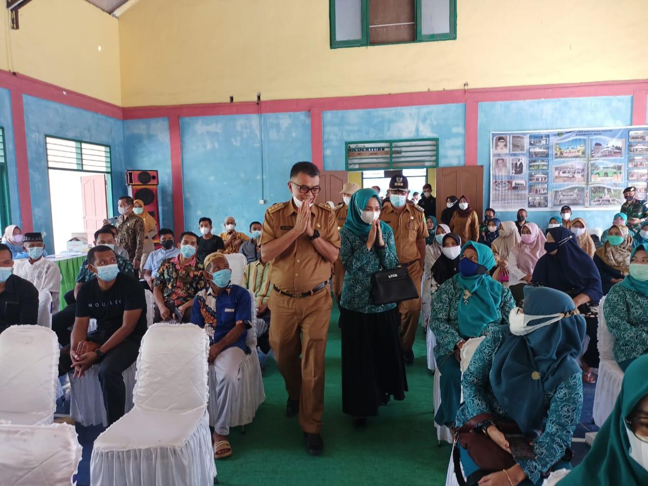 Kunker Ke Kecamatan Midai, Ini Pesan Yang Disampaikan Oleh Bupati Natuna