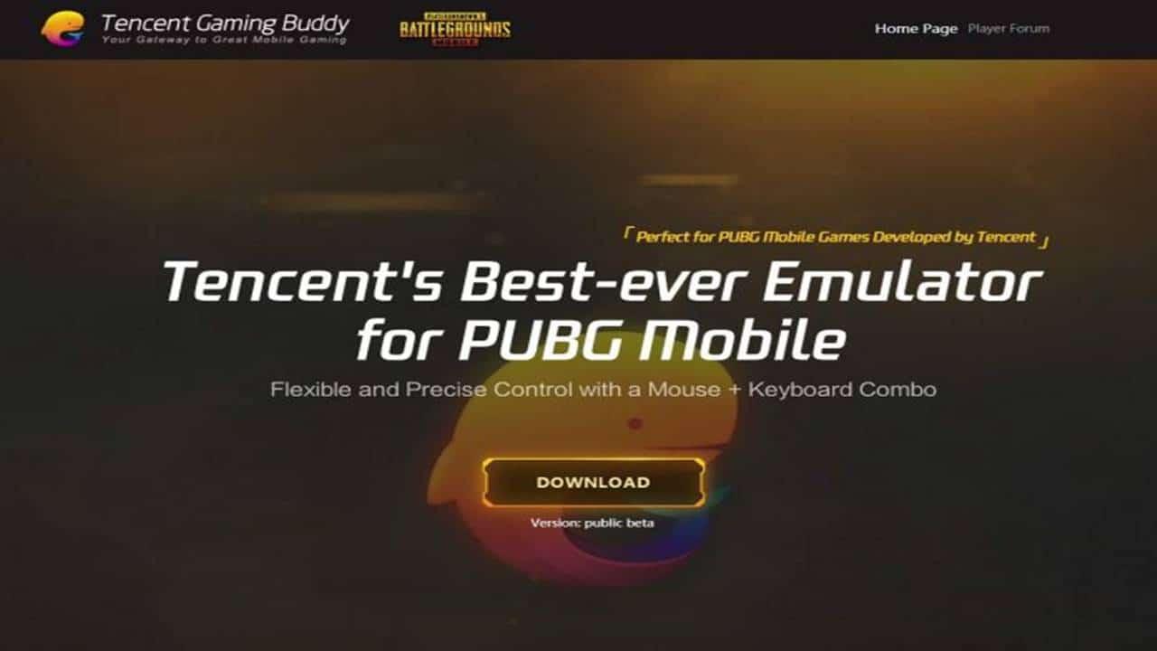 Bermain PUBG Mobile dengan PC