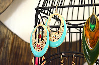 Birdcage Earring Storage