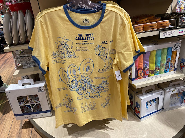Ink & Paint The Three Caballeros Shirt