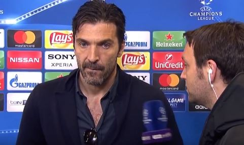 Intervista Buffon Real Juventus 1-3