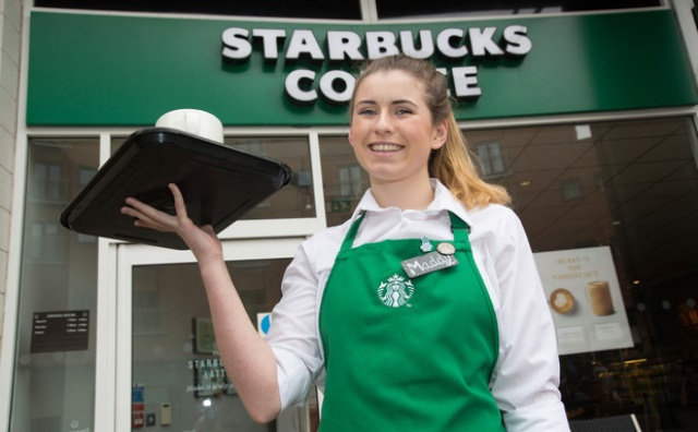Quy định đồng phục Starbucks