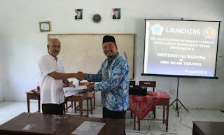 UNIRA Launching Aplikasi Sistem Informasi Sekolah di SMK Islam Tanjung