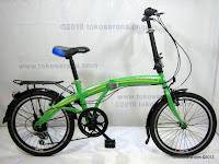 A 20 Inch Gorin Handy Bike 6 Speed Shimano Folding Bike