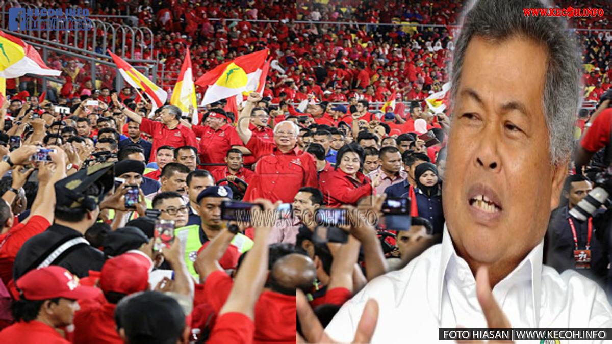 Bekas Menteri Besar Terengganu Datuk Seri Ahmad Said Berkata Umno Kini Sudah Tenat Dan Sukar Untuk Bangkit