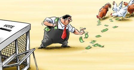 Politik Uang / Money Politic (Pengertian, Unsur, Jenis, Bentuk dan Strategi)