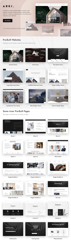 Architecture and Interior WordPress Theme