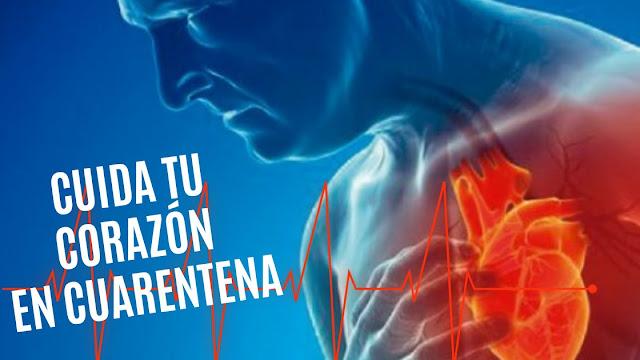 Cómo Cuidar la Salud Cardiovascular en Épocas de Cuarentena