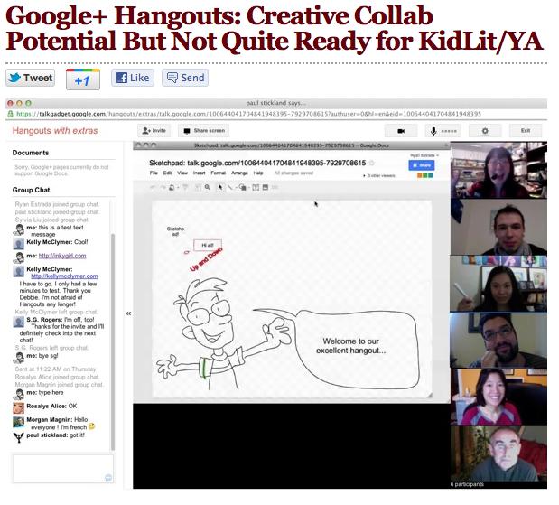 Sylvia Liu Land: Google+ Hangouts: A Promising Tool for Online