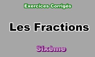 Exercices Corrigés Sur Les Fractions 6eme en PDF