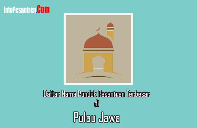 Pondok Pesantren Terbesar di Jawa