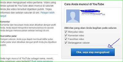 cara memasukkan video ke youtube