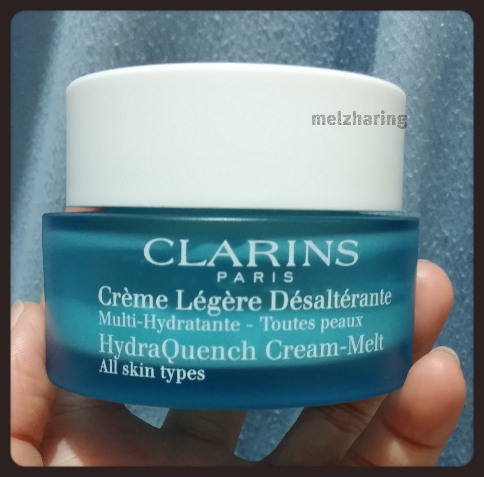 Clarins Hydraquench Cream Melt 15 Ml Update Daftar Harga Terbaru Gel Normal To Combination Skin 15ml All Types