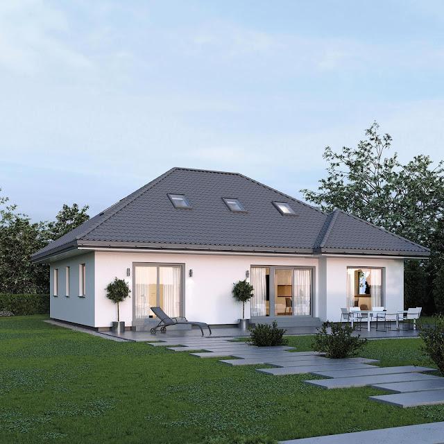Model Bungalow House