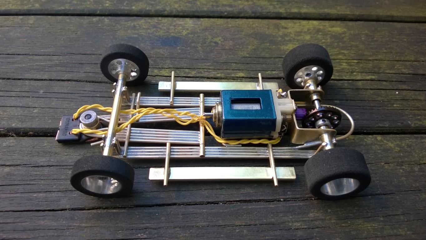 1:24 Skip Hudson Lola T70 CanAm car as Slot Car Model