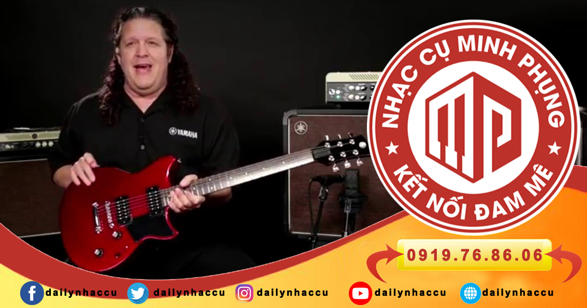 Nguồn cảm hứng tạo nên đàn guitar điện Yamaha RS320
