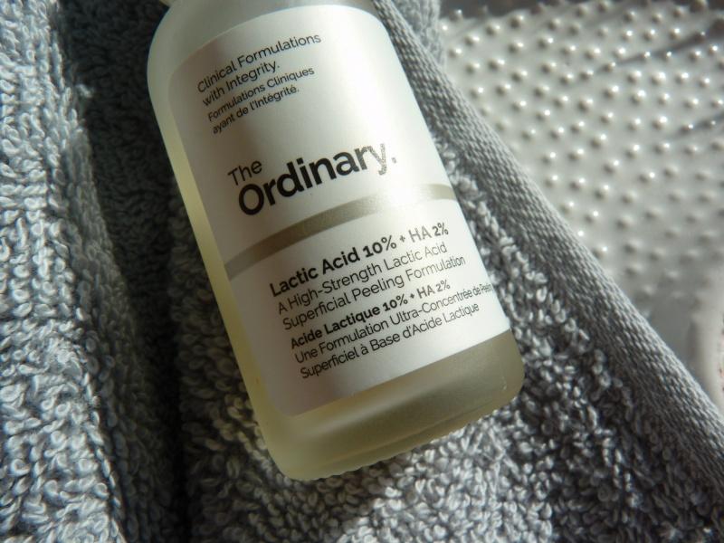 The Ordinary - Lactic Acid 10% + HA - Peeling kwasowy jak stosować