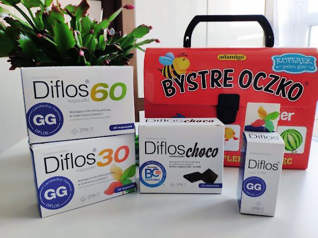 Odporność bierze się z brzucha - Diflos suplemet wspomagający mikroflorę jelitową