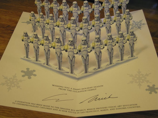 Lucasfilm Christmas Card