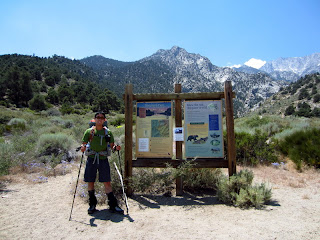At the Shepherd Pass Trailhead.