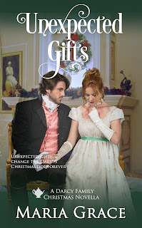 Book cover: Unexpected Gifts by Maria Grace