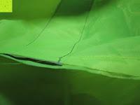 innen: Regenschutz für Rucksäcke Rucksackschutz Ranzen Regenschutz Rucksackcover Regenüberzug Neon Sicherheitsüberzug Reflektorüberzug