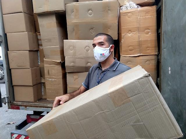 Governo da Bahia entrega 150 mil máscaras para comunidades tradicionais