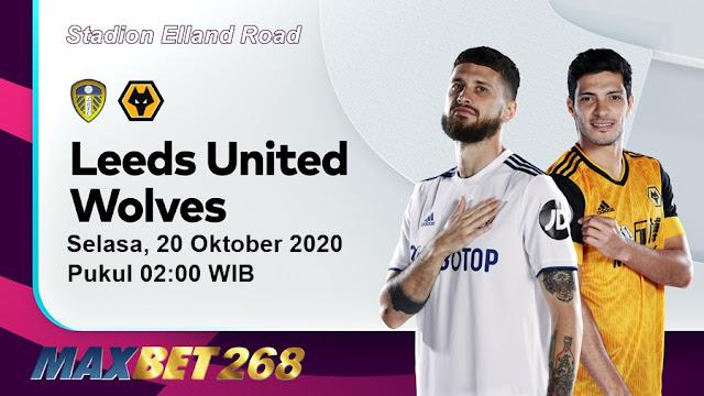 Prediksi Leeds United Vs Wolves, Selasa 20 Oktober 2020 Pukul 02.00 WIB @ Mola TV