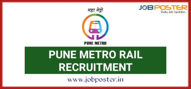 Pune Metro Rail Recruitment 2020 Manager Posts | 03 Vacancies