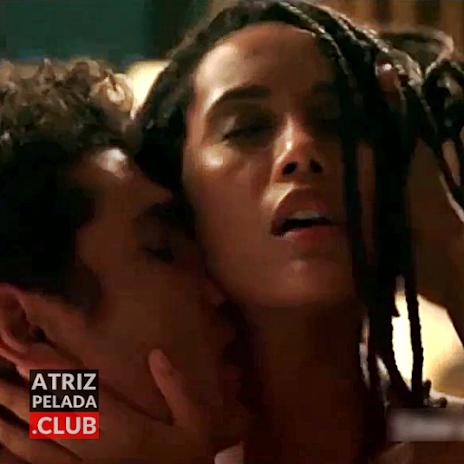 """Taís Araújo nua em cena de sexo na série """"Aruanas"""""""