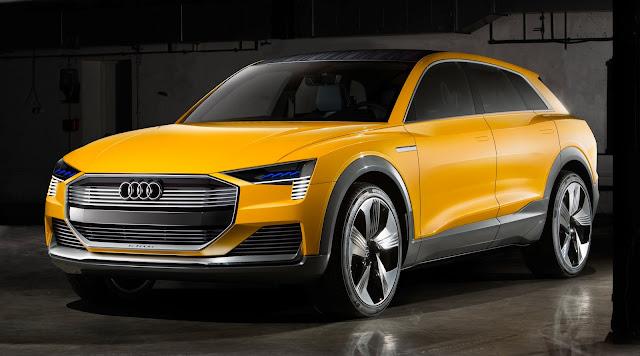 Audi h-tron quattro: conceito de SUV movido a hidrogênio