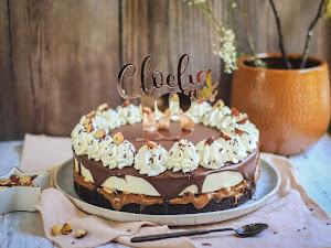 Brownille - Gâteau au chocolat et crème vanille