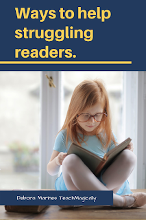 Ways to help struggling readers by Teach Magically