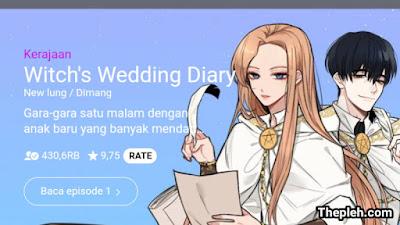 Witch's Wedding Diary Manhwa
