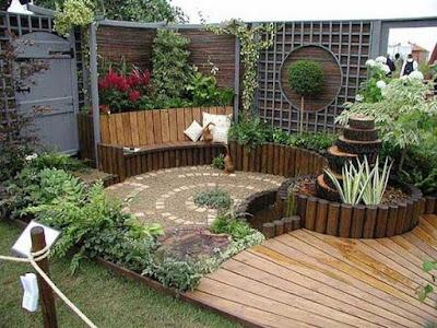 Truco construir espacio jardín
