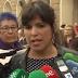 """Teresa Rodríguez tacha de """"impresentable"""" a Pablo Casado por sus declaraciones contra la inmigración"""
