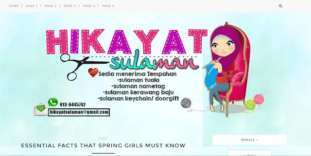 Full edit blog Hikayat Sulaman