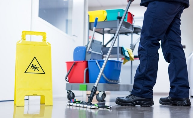choosing office cleaning company best workplace cleaner business