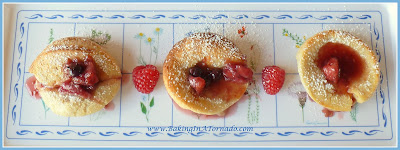Berry Individual Pancake Puffs | recipe developed by www.BakingInATornado.com | #recipe #breakfast