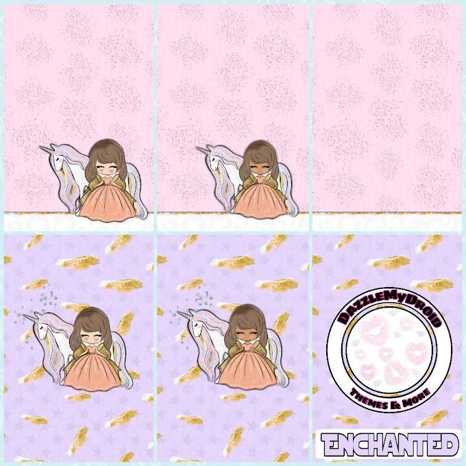 Enchanted Wallpaper set