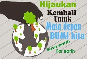 poster usaha pelestarian sumber daya alam www.simplenews.me
