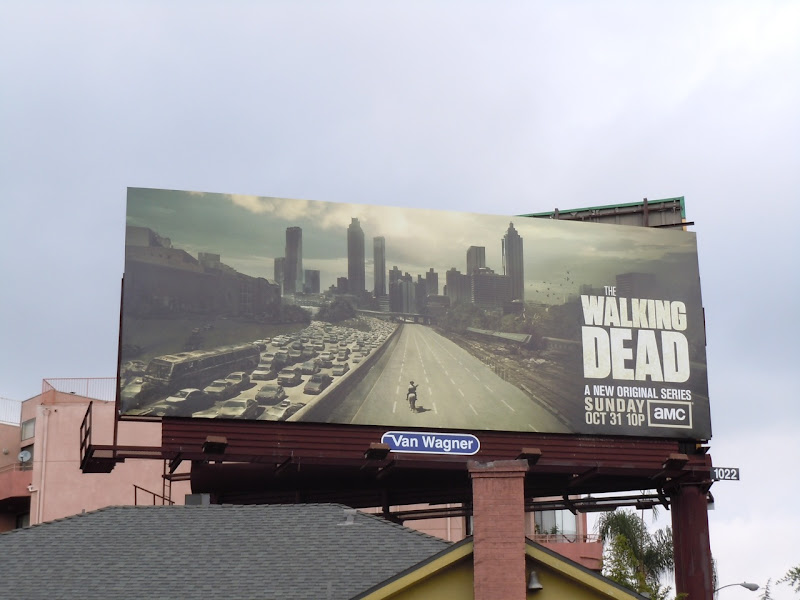 The Walking Dead season 1 billboard