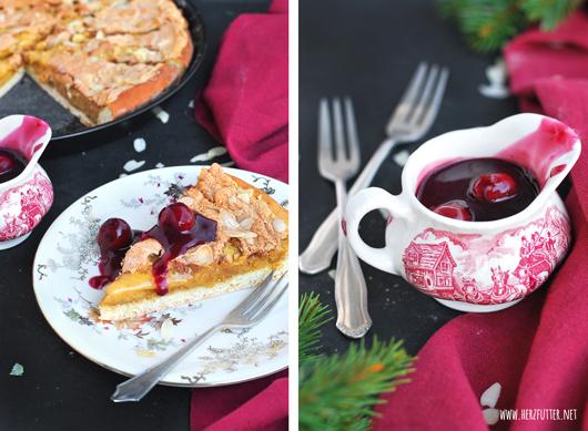 Weihnachtlicher Kuchen aus Sachsen – Eierschecke