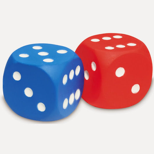 Red Blue dice mechanics