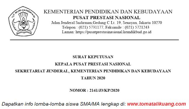 sk peserta finalis kopsi sma ma tingkat nasional tahun 2020 pdf tomatalikuang.com