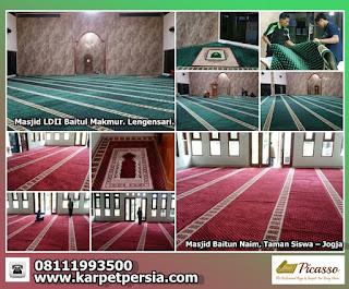 karpet sajadah, karpet persia, sajadah masjid minimalis