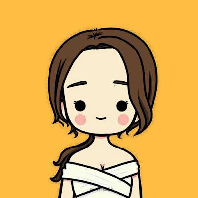 Share bộ avatar chibi đôi tình yêu cực Hot trên Facebook